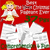 The Best Christmas Pageant Ever : Comprehension Book Companion & Activity Packet