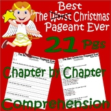 The Best Christmas Pageant Ever : Comprehension & Multiple Choice Questions
