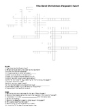 The Best Christmas Pageant Ever Crossword Puzzle