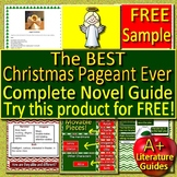 The Best Christmas Pageant Ever Novel Study - FREE Sample!