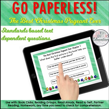 The Best Christmas Pageant Ever Free Sample