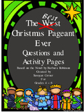 Best Christmas Pageant Ever Unit