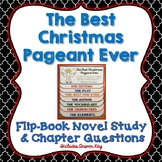 The Best Christmas Pageant Ever, Novel Study, Flip Book Pr