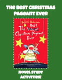 The Best Christmas Pageant Ever Novel Study: Interactive G