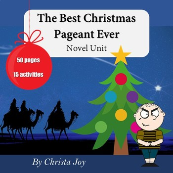 The Best Christmas Pageant Ever Novel Study for Special Education