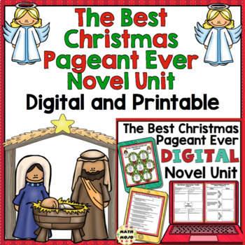 Christmas Pageant.The Best Christmas Pageant Ever Novel Unit