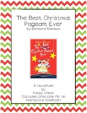 The Best Christmas Pageant Ever Novel Unit **Common Core Aligned