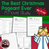 The Best Christmas Pageant Ever Study Guide  No Prep Worksheets