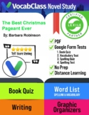 The Best Christmas Pageant Ever! Novel Study Guide | Tests | Vocabulary | Games