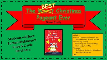 The Best Christmas Pageant Ever Packet