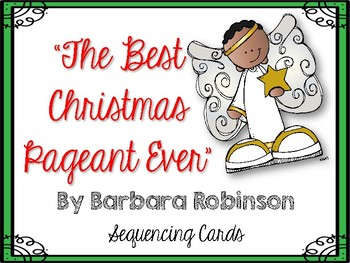 The Best Christmas Pageant Ever Sequencing Cards