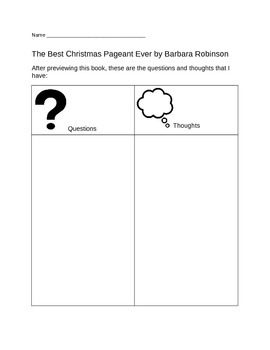 The Best Christmas Pageant Ever Unit - Common Core Aligned