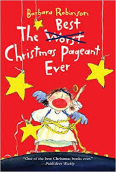 The Best Christmas Pageant Ever Vocab list,trifold,&Quiz