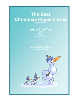 The Best Christmas Pageant Ever Whole Book Test