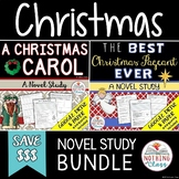 The Best Christmas Pageant Ever and A Christmas Carol Novel Study Unit Bundle