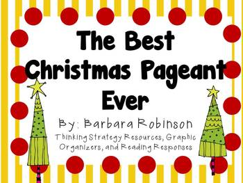 the best christmas pageant ever by barbara robinson character plot setting - The Best Christmas Pageant Ever Summary