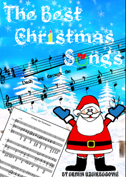 The Best Christmas Songs music notes, music sheets