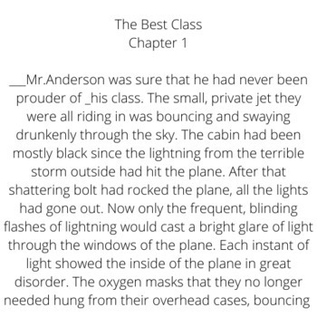 The Best Class- A 25-Chapter Class Individualized Epic Tale