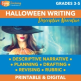 Halloween Writing Activity - Descriptive Narrative of the Best-Dressed Witch