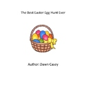 The Best Easter Egg Hunt Ever - QR Code Scavenger Hunt - Book Study - Easter