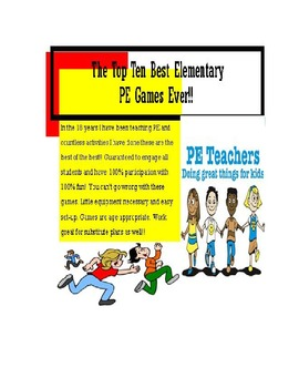 The Best Elementary Pe Games Ever!