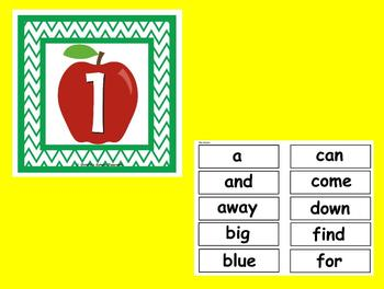 The Best Ever Dolch Sight Word Read-the-Room--Apples