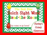 The Best Ever Dolch Sight Word Read-the-Room Christmas Lights