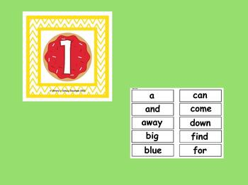 The Best Ever Dolch Sight Word Read-the-Room Donuts