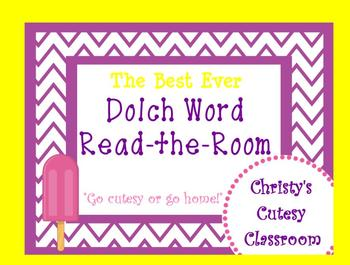 The Best Ever Dolch Sight Word Read-the-Room Popsicles