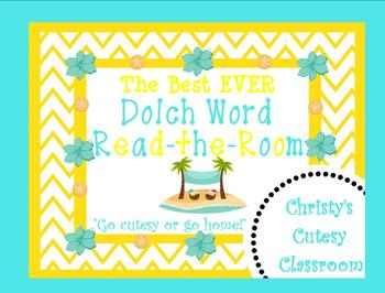 The Best Ever Dolch Sight Word Read-the-Room--Sand Dollars