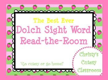 The Best Ever Dolch Sight Word Read-the-Room Strawberries
