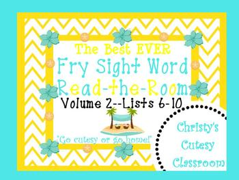 The Best Ever Fry Sight Word Read-the-Room Vol. 2--Sand Dollars