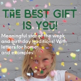The Best Gift is You! Meaningful Birthday & Star of the We
