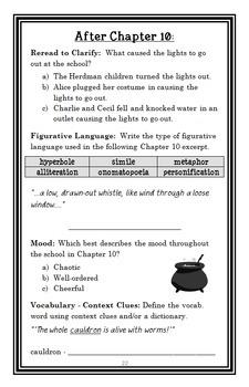 The Best Halloween Ever (Barbara Robinson) Novel Study / Reading Comprehension