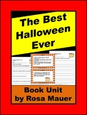The Best Halloween Ever Book Unit