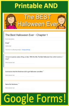 The Best Halloween Ever Free Quiz