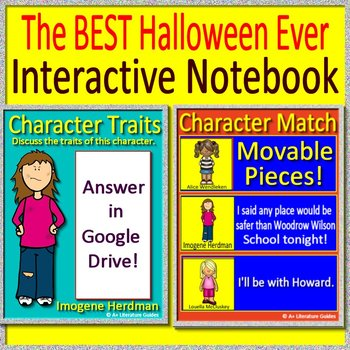 The Worst Best Halloween Ever Novel Study Unit Use With OR Without Google Drive