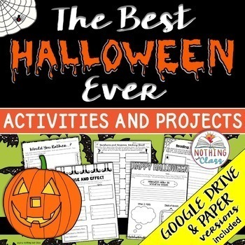 The Best Halloween Ever: Reading Response Activities and Projects