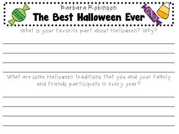The Best Halloween Ever by Barbara Robinson: Character, Plot, Setting