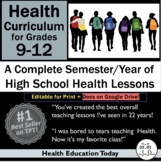Health Lessons for High School 9-12: #1 Best-Selling Full Semester/Year Program