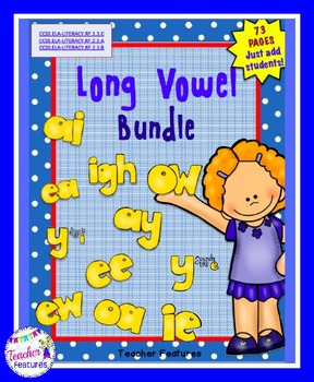 Long Vowels Center Bundle