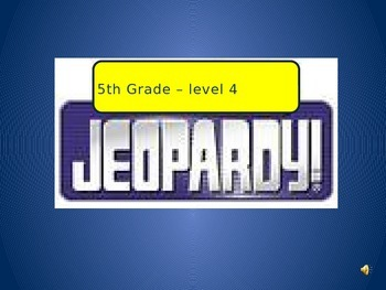 The Best Math Jeopardy review game