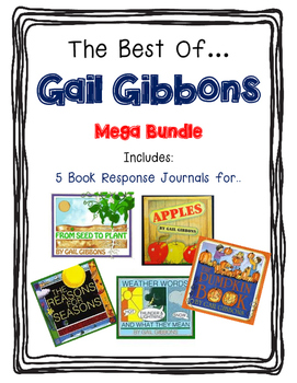 The Best Of Gail Gibbons-5 Response Journals, Close Readin