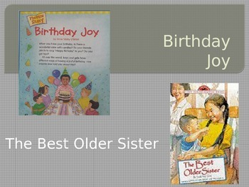 The Best Older Sister / Birthday Joy Power Point