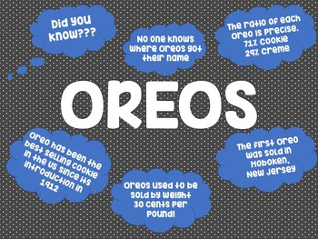 The Best Oreo Cookie Opinion Writing Prompt