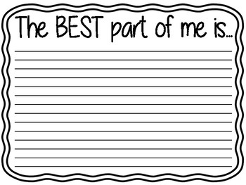 The Best Part of Me...