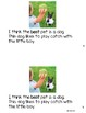 The Best Pet Level D Guided Reading book w/ lesson plans *Opinion Writing!!