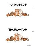 The Best Pet Level D Guided Reading book w/ lesson plans *