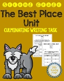 The Best Place Unit Cumulative Writing Task for Louisiana