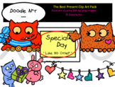 The Best Present Clipart Pack